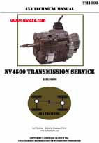 NV4500 Shop Manual