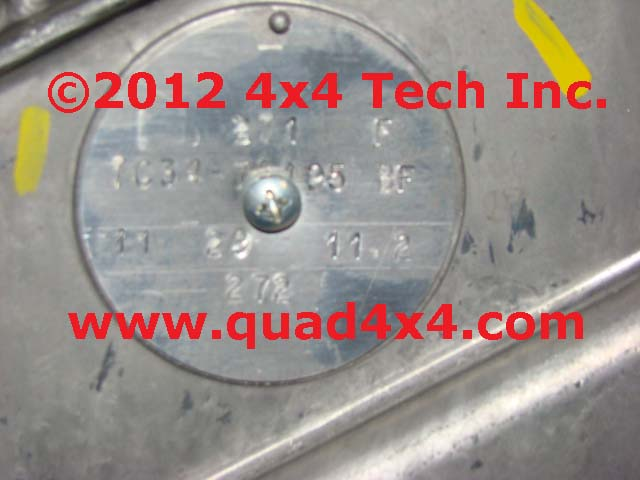 Diagram Additionally Ford Transmission Tag Identification Also Ford F